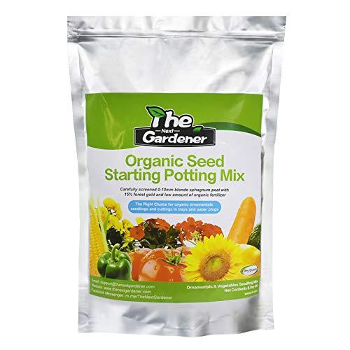 Organic Soil, Seed Starting Potting Mix, Seeding Soil Mix...
