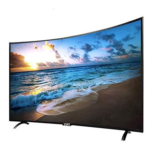 Televisión curvada de 32/42/50 pulgadas Versión de red 4K WIFI Smart TV, TV de marco estrecho delgado y de bajo consumo de energía ecológica, Pantalla de monitor de juegos TV de alta definición