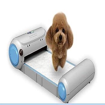 KEDUODUO Chien Toilettes, à Distance en Temps réel de contrôle de Surveillance Toilettes Automatique pour Animaux, Deux Tailles, Convient pour Chiens 4,5 kg et 7,5 kg,Dog Toilet,S