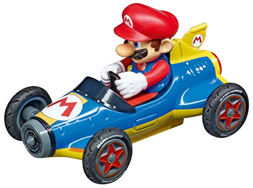Carrera 64148 Nintendo Mario Kart 8 Mach 8 Mario GO!!! Analog Slot Car Racing Vehicle 1:43 Scale