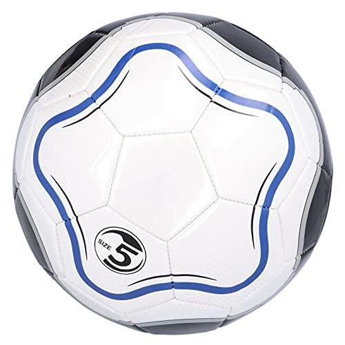 Lantuqib Balón de fútbol de tamaño 5, balón de fútbol de regate Tamaño 5 Balón de fútbol de competición Regate de balón de fútbol Inteligente Tamaño 5 Balón de fútbol Inteligente Tamaño 5 para