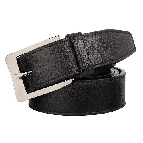 Lime Wear Black Men's PU Leather Belt(LW-MB-001)