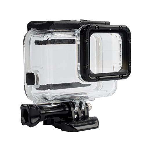 Ciyoon 2019 White 60M Waterproof Housing Case + Screen Backdoor for GoPro Hero 7 Hero 6 & 5 Camera