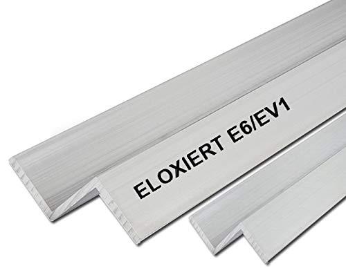 Aluminium Z-Profil Eloxiert Silber Matt 20x20x20x2mm 1500mm