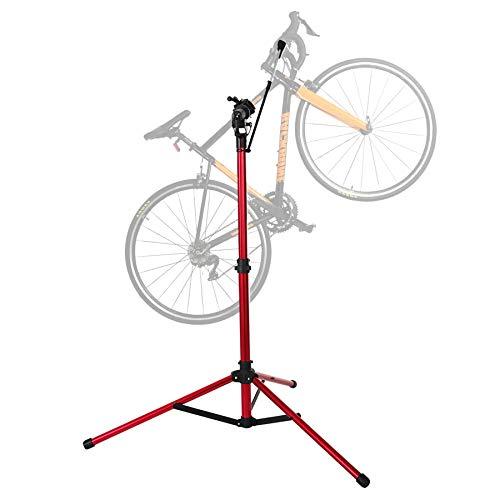 Unisky Bike Repair Stand Manutenzione Home Shop Riparazione biciclette Supporto da lavoro Altezza regolabile Ciclo di manutenzione Rack