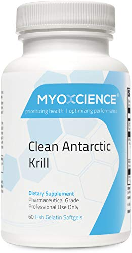 Clean Antarctic Krill | K·Real | 165 mg EPA and 93 mg DHA Bound to Phospholipids | Heavy Metal...