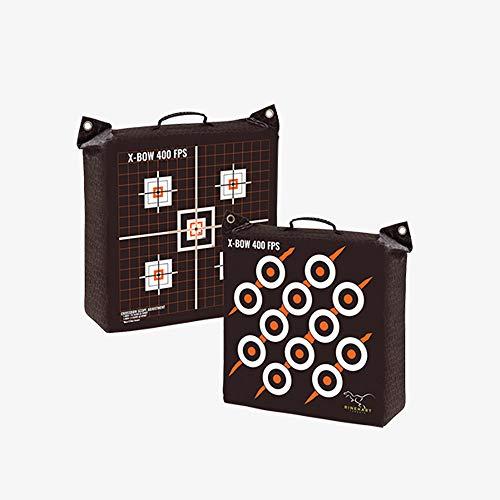 Rinehart 57111 Crossbow Bag Target , Black, 18x18x12