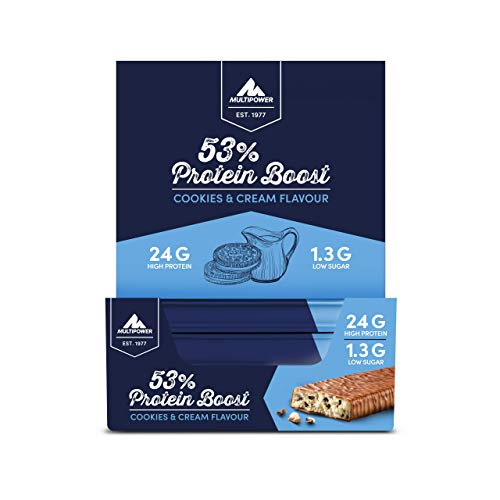 Multipower 53% Protein Bar (24x50g) 24 Unidades 1200 g