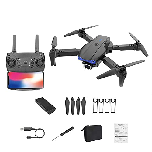 nicything 4K Dual Camera Drone for Adults and Kids, Foldable Mini Drone Quadcopter Toys with Remote Contol, Smart HD Visual Positioning Quadcopter Drone Toys Gifts for Beginners, Easy to Control