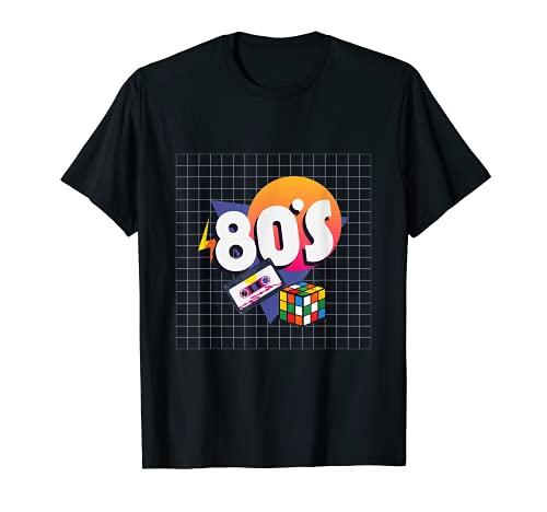 Rubic Rubix Rubik Cube Matemáticamente Retro Camiseta
