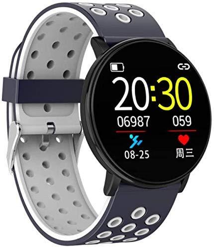 ZHANGYH Orologio Sportivo Cardiofrequenzimetro, Orologi Intelligenti, Tendenza del Braccialetto elettronico dell'ossigeno della Pressione sanguigna di Android EOS