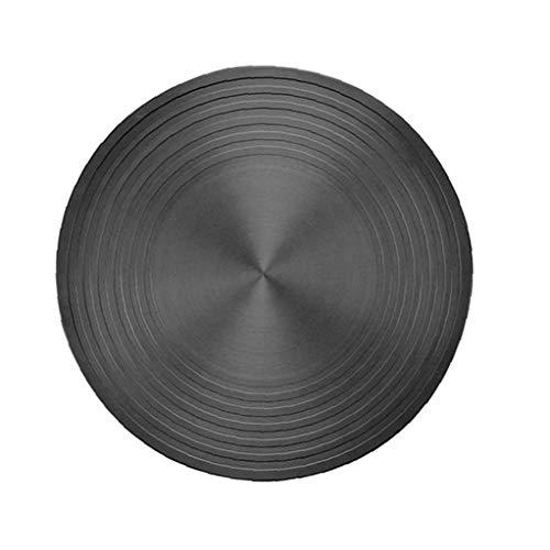 Sanfiyya Descongelación La descongelación Placa Placa de Conducción de Calor Bandeja Redonda rápido Multifuncional para la Estufa de Gas de Cocina Carne de Pollo Gambas 24cm