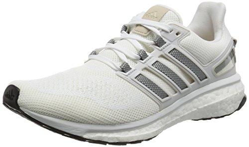 adidas Herren Energy Boost 3 Laufschuhe, Weiß (FTWR White/ch Solid Grey/Crystal White), 40 EU