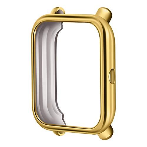 Funda protectora para Xiaomi Huami Amazfit Bip Youth/Lite Watch, cubierta protectora para Xiaomi Huami Amazfit Bip Youth/Lite Watch, color dorado