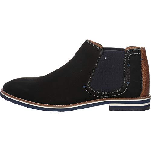 SALAMANDER Herren Chelsea Boots Vasco schwarz Gr. 46