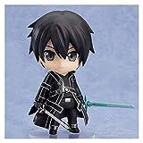 LIQIN Sword Art Online Anime Action Figura Sao Kirito Nendoroide Modelo Muñeca de Juguete Adornos So...