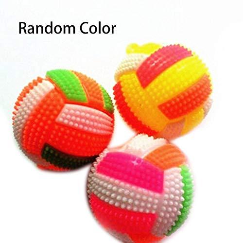 LED Volleyball, Farbige Flashing Light Up Color Changing Bouncing Hedgehog Ball Kinder Geschenk Stress Release Welpen Geschenk Lustiges Spielzeug