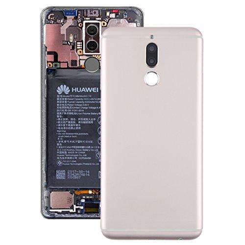 Zhangli Tapa Trasera del telefono Contraportada Huawei Mate 10 Lite/Maimang 6 contraportada (Color : Gold)