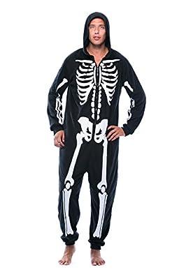 #followme M6259-NEW-XXL Skeleton Adult Onesie/Pajamas by #followme