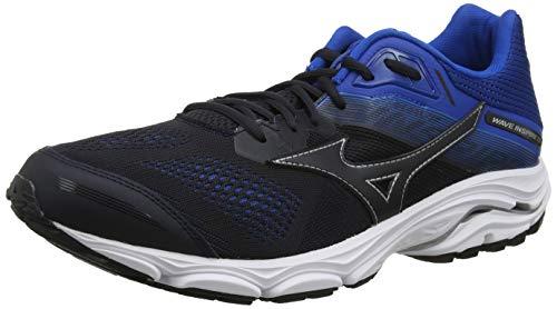 Mizuno WAVE INSPIRE 15, Men's Running, Black (Blue Graphite/Blue Graphite/Snorkel Blue 21), 7 UK (40.5 EU)