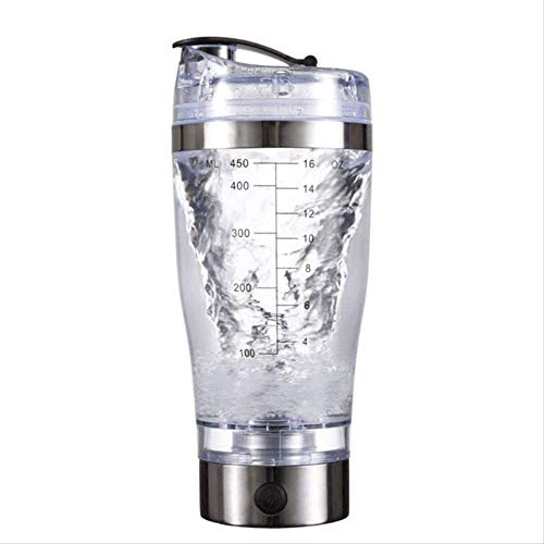 ASDHJ 450ml/600ml USB Rechargeable Electric Mixing Cup Portable Protein Powder Automatic Shaker Bottle Leakproof Mixer