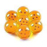 CosplayStudio Juego de 7 pelotas de Dragon Ball de Son Goku en una caja de colección