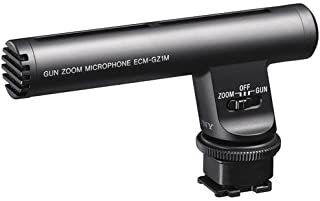 Sony Zoom Directional Microphone for Sony Cameras and Camcorders with Multi-Interface Shoe, with Built-In Noise Isolation Technologyand