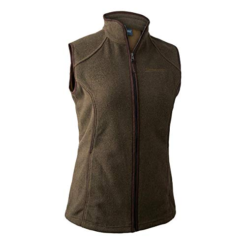 Deerhunter Lady Josephine Fleece Weste Graphite Green Damenjacke Jagdjacke (48, Graphite Green)