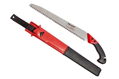 FALCI 251A24024 Scie Couteau Droit-avec Etui, Gris, 40x2,5x2 cm
