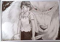 もののけ姫 鉛筆画136