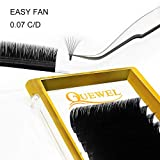 Volume Eyelash Extensions Thickness 0.07 C Curl 8-15mm Mix Premade Fans 2D 3D 4D 5D 6D 20D Easy Fan Lash Self Fanning|Optinal Thickness 0.05/0.07/0.10/0.12 C/D Curl Single 8-18mm Mix 8-15mm|