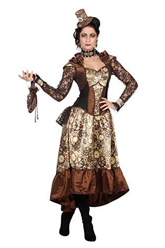 Wilbers&Wilbers W4534-42 Lacey - Vestido para mujer (talla 42), color beige, marrn y negro