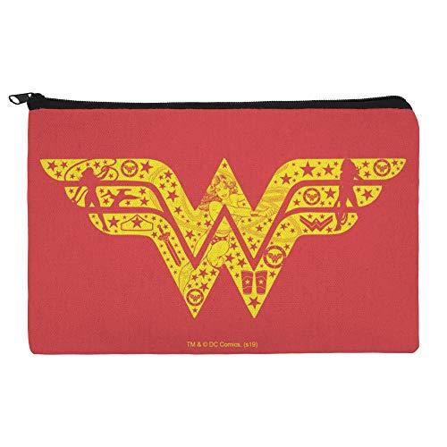 Wonder Woman Wonder Woman Icons Logo Make-up Kosmetiktasche Organizer Tasche