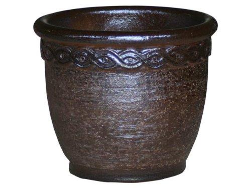 Original K & K fioriera Cleopatra, 80x 65cm Realizzato in gres ceramica