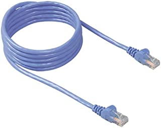 Belkin RJ45 CAT 5e Snagless Molded Patch Cable (3 Feet Blue)