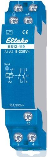 Eltako 2058563 ELTA ES12-110-UC 8.230V UC 1S+1OE Stromstossschalter elektronisch