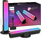 Govee Flow Pro Barras de Luz con Cámara, Luces LED RGBIC Inteligente con Control App, Funciona con Alexa y Google Asistente, Modo Música y Escena para Habitación Gaming, TV y PC