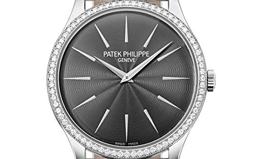 Patek Philippe Calatrava White Gold 4897G-010 with Guilloched Silvery Gray dial