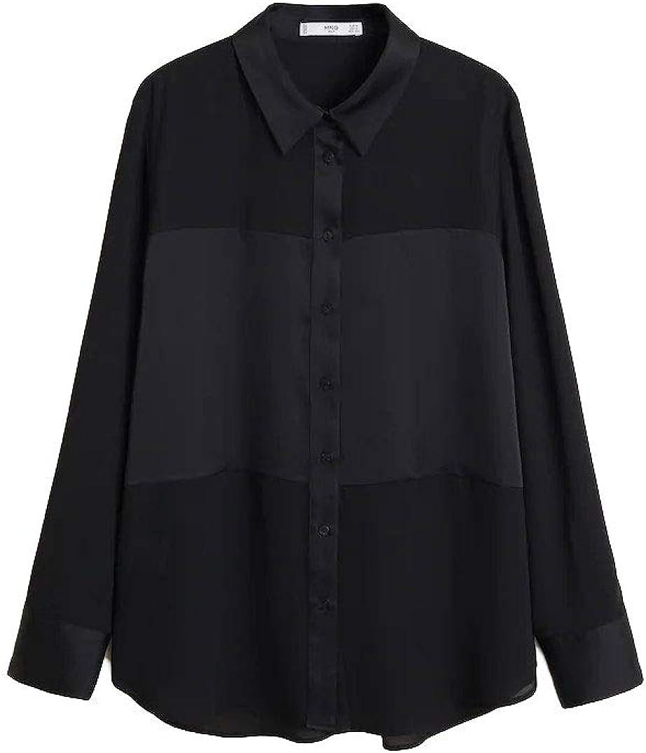 Camisa de mango BIMA Negro M: Amazon.es: Ropa