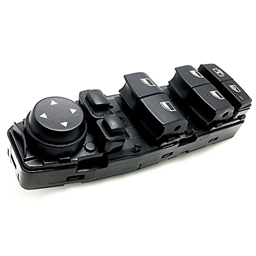 NsbsXs para BMW F06 F07 F10 F11 Botón de Control del Interruptor del Panel de elevación de la Ventana de energía eléctrica automática del Coche 61319241956 61319179915
