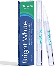 Tetyana naturals Teeth Whitening Pen, 20+ Uses, Effective, Painless, No Sensitivity, Travel-Friendly, Easy to Use, Beautiful White Smile, Natural Mint Flavor (2 Pack)