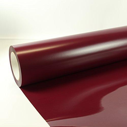 22,48€/m² 1m x 0,5m Poli-Flex Premium Folie Bordeaux 409 Flexfolie Buegelfolie Poli-Flex
