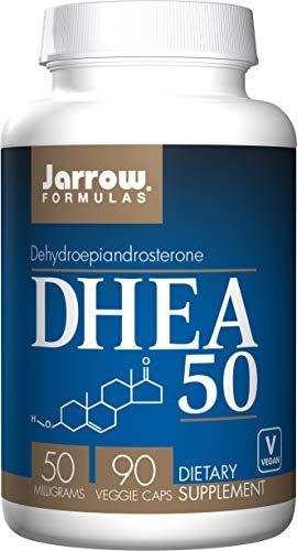 Jarrow Formulas DHEA (Dehydroepiandrosterone), 50mg, 90 Capsules (Pack of 2)