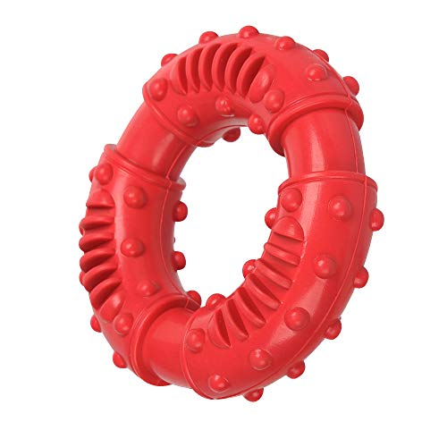 Motusamare Dog Chew Toys for Aggressive Chewers,Indestructible Beef Flavored Tough Durable Dog...