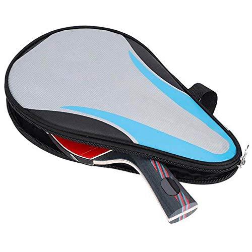 DAUERHAFT Pingpong Paddle Diseño Ligero, para competición de Entrenamiento, para Tenis de Mesa(Pen-Hold Shot)