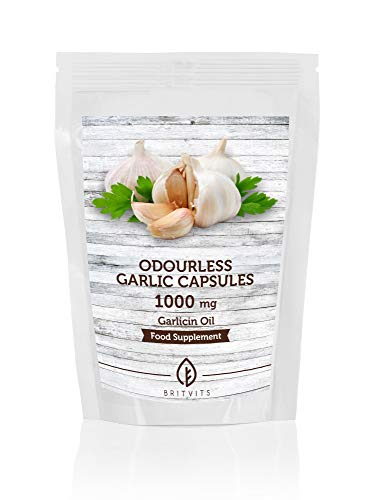 Odourless Garlic 1000mg Oil Extract x 90 Softgel Capsules