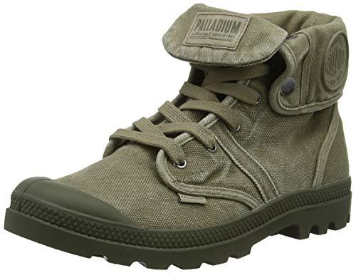 Palladium Herren Us Baggy W H Hohe Sneaker, Grün Dusky Green T03, 44.5 EU