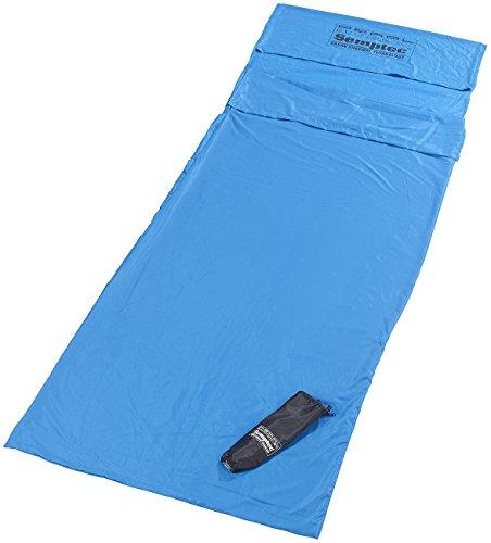 Semptec Urban Survival Technology Reiseschlafsack: Hütten-Schlafsack aus Mikrofaser, Rechteckform (Superleichter Decken Schlafsack)