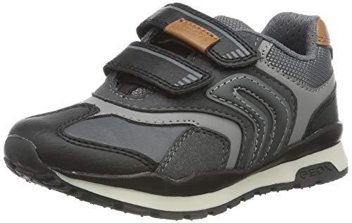 Geox J Pavel A Sneaker, DK Grey, 30 EU