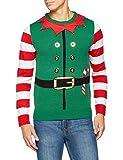 [Large] The Christmas Workshop Elf Suit 3D Jumper, Green, Large